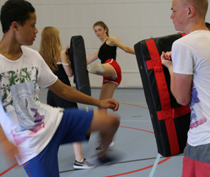 Workshop Kickboksen