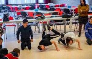 Kinderfeestje Breakdance