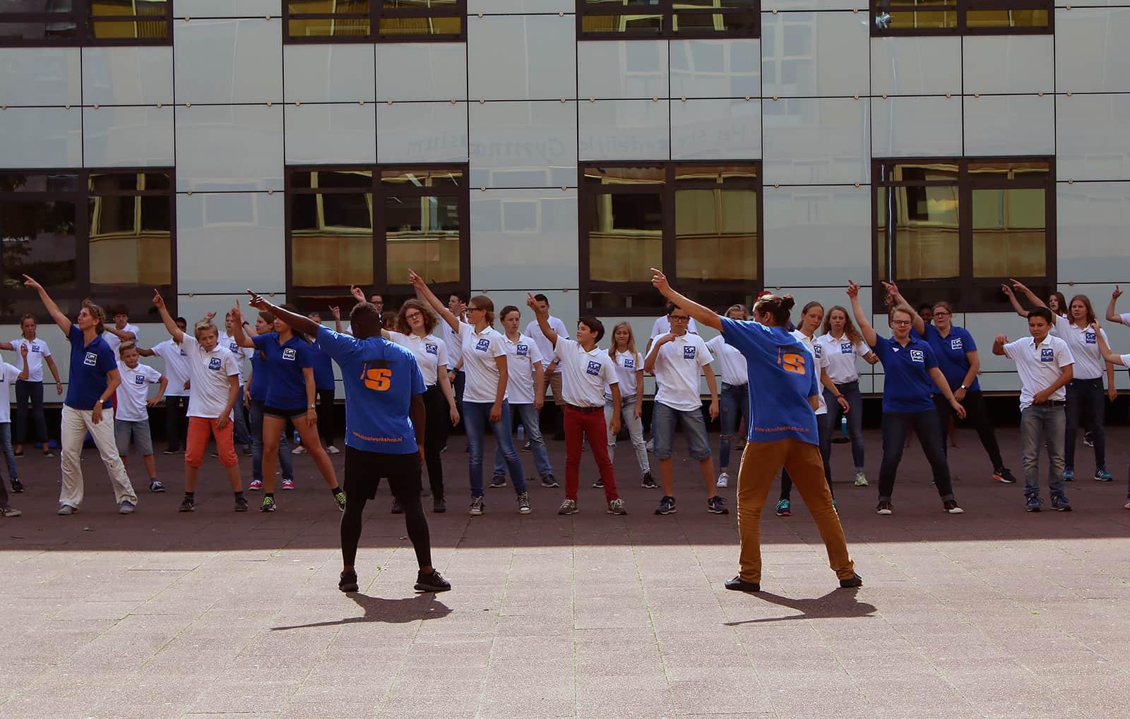Kinderfeestje Flashmob