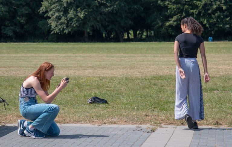 Vrijgezellenfeest Smartphone Fotografie